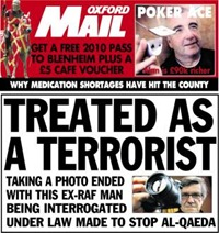 Oxford Mail Maffi headline