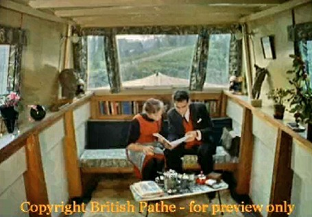 Basingstoke Canal boat conversion 1961