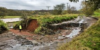 Caldon Canal near Leek shows silting. Pic supplied by BW press office