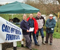 Thurmaston Lock protest 2006