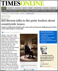 Bryson Times article