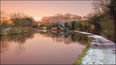 Canal scene near Winkwell