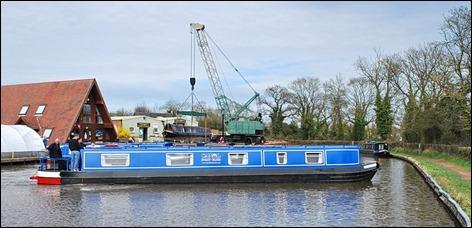 Marjorie Nott 51 in Canal Boat Club colours