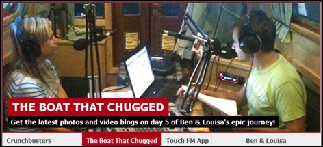 TouchFM The Boat That Chugged