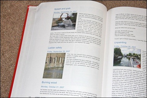 Herbie blog book pages