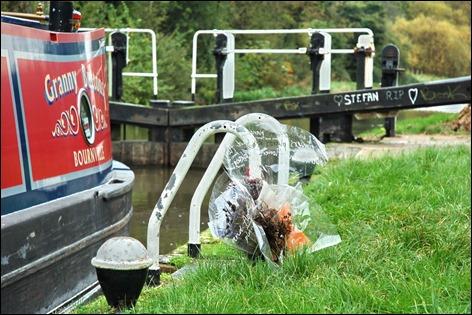 Stefan Morris shrine, Dunn's Lock, Leicester