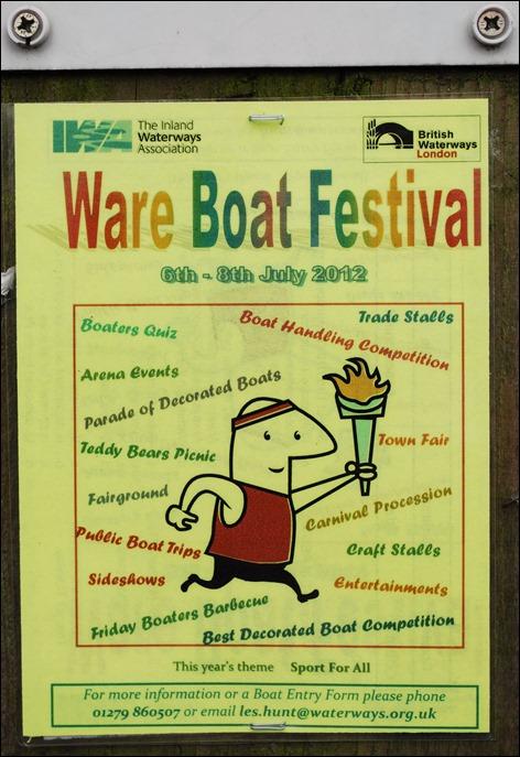 Ware festival poster