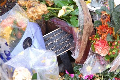 Scott Clark shrine closeup, Sawbridgeworth