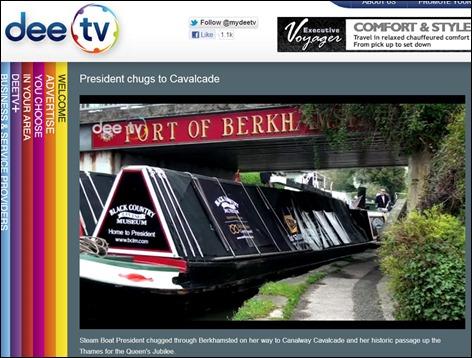DeeTV President Berkhamsted