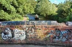 Bonehill Bridge with missing parapet bricks 4979