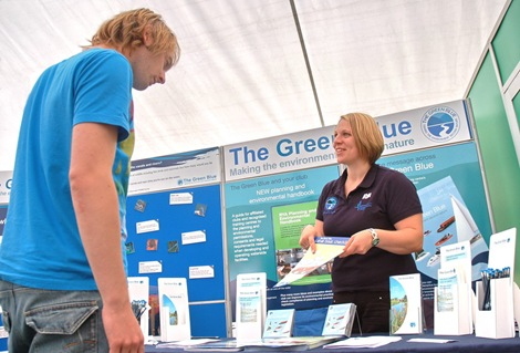 The Green Blue offers advice at the IWA Festival 2008