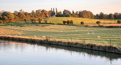 Ridge and Furrow near Yardley Gobion