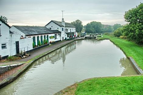 The Three Locks pub at Soulbury, Stoke Hammond