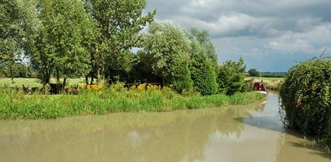 Old Engine House Arm, Napton Locks, Oxford Canal